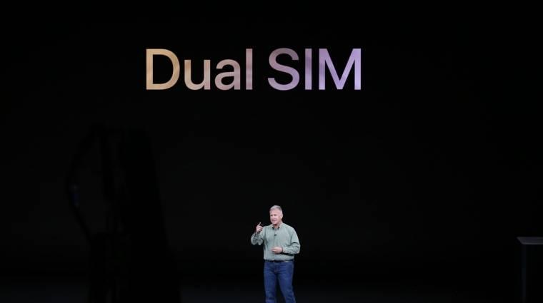 Szoftverfrissítés aktiválja majd az eSIM-et az új iPhone-okban kép