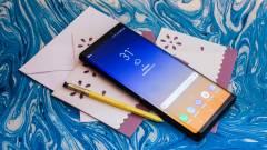 A Consumer Reports szerint betalált a Galaxy Note 9 kép