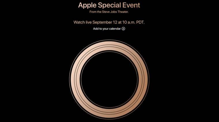 Itt nézheted szerdán élőben az új iPhone-ok bemutatóját kép