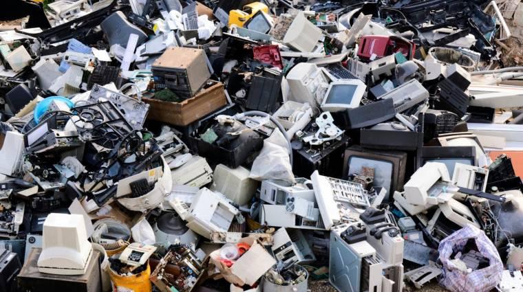 1000 tonna elektronikai és elektromos hulladékot adott le a lakosság 2017-ben a MediaMarkt áruházaiban kép