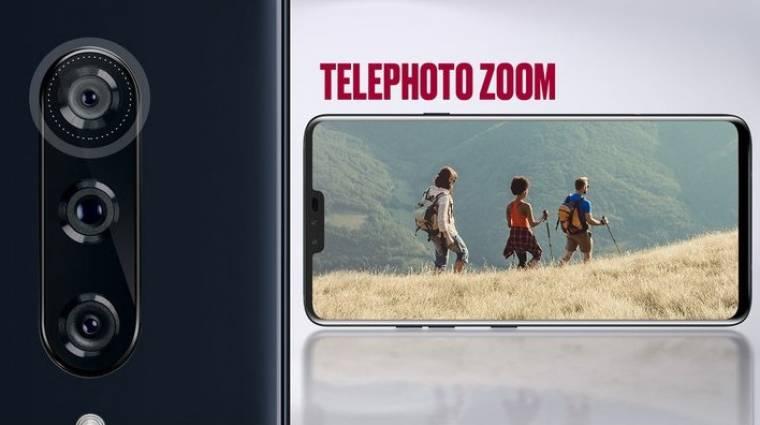 Ilyen kamerák kerülnek az LG V40 ThinQ-ra kép
