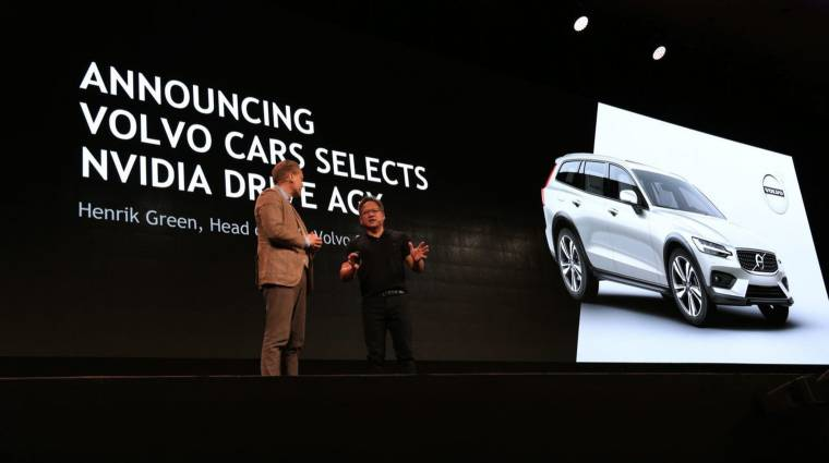 Összeállt az NVIDIA és a Volvo kép