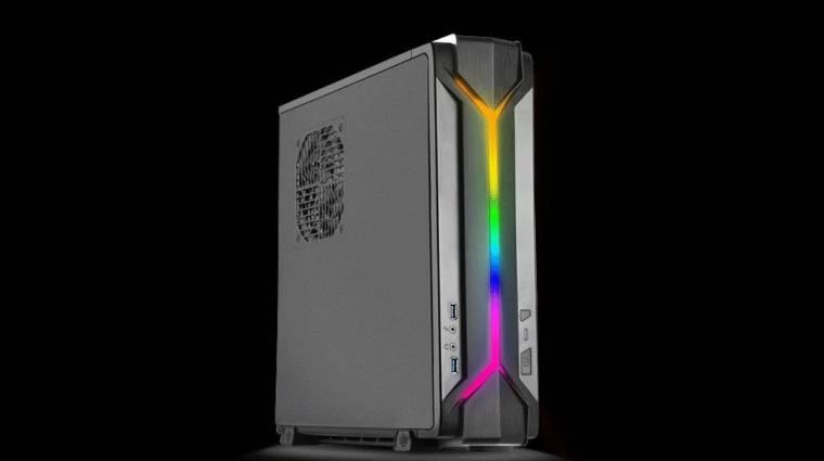 Gamereknek szól, világít és kicsi a SilverStone új számítógépháza kép