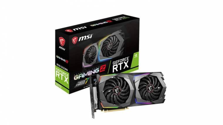Kiszivárgott az MSI GeForce RTX 2070 GAMING széria kép