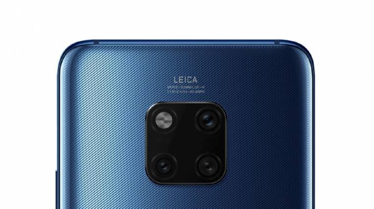 Elképesztően jó kamerarendszerrel támad kedden a Huawei Mate 20 Pro kép