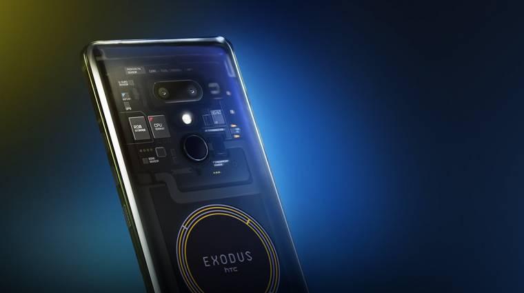 Drága és nagyon különc az HTC Exodus 1 blockchain-mobilja kép