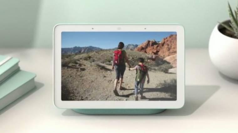 Kamera nélkül figyel rád és az otthonodra a Google Home Hub okoskijelző kép