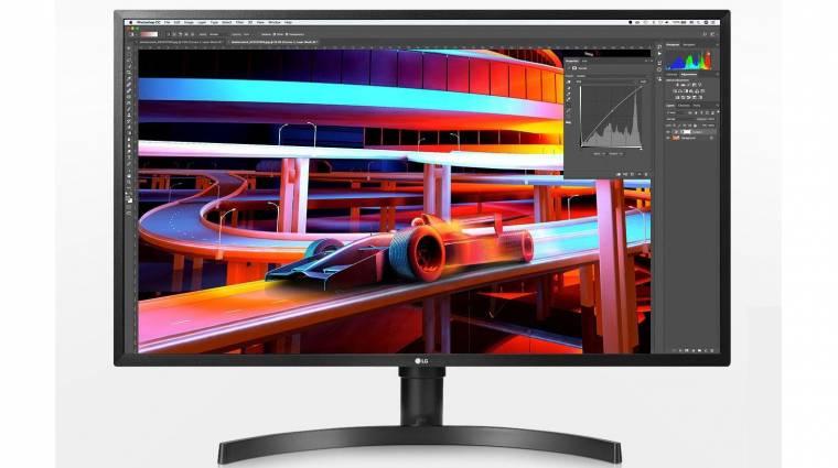 Szinte mindent tud az LG jó árú monitora kép