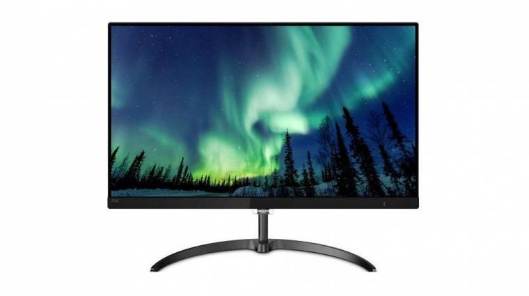 4K-s és 10 bites a Philips legújabb monitora kép