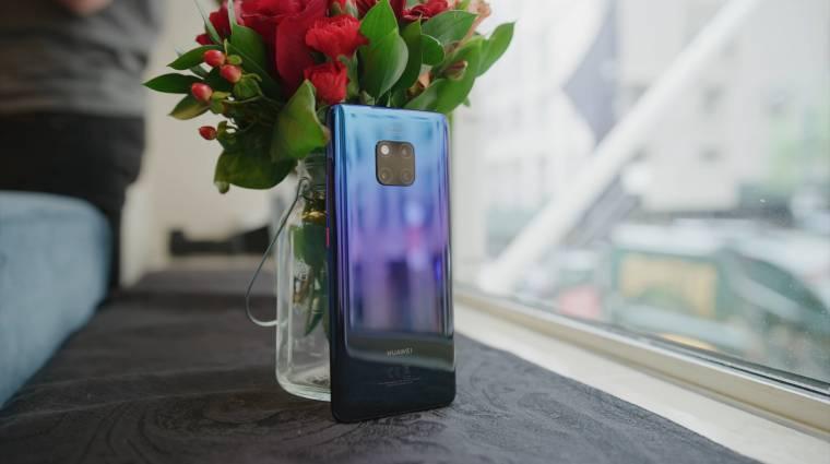 Itt az olcsó Huawei Mate 20 Pro, de nem kapunk belőle kép