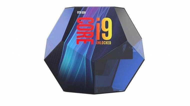 Nagyon menő lesz a Core i9-9900K csomagolása kép
