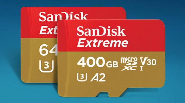 Végre jönnek a SanDisk villámgyors microSD kártyái kép