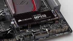 Itt a Corsair eddigi leggyorsabb SSD-je kép