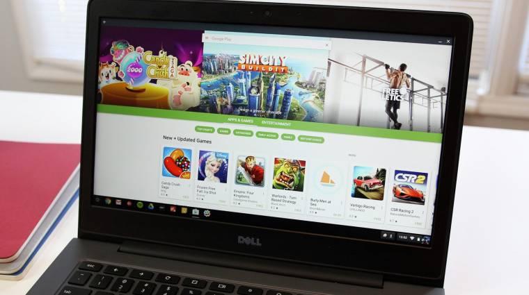 Linux- és Android 9-támogatással újítanak a Chromebookok kép