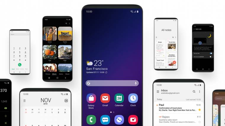 Látványosan megújul a Samsung okostelefonok kezelőfelülete kép