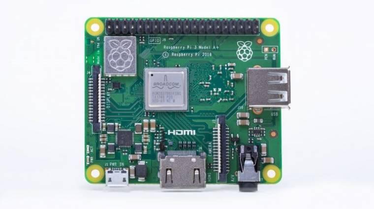 Kisebb és olcsóbb az új Raspberry Pi 3 kép