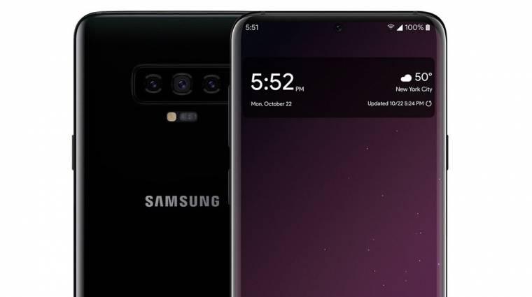 Ilyen lesz a Galaxy S10 ultrahangos ujjlenyomat-olvasója kép