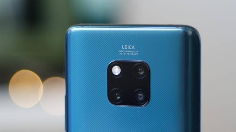 4 hátsó kamerát és 10x-es zoomot akar a Huawei kép