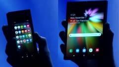 Nagyon drága lesz az összehajtható Samsung mobil kép