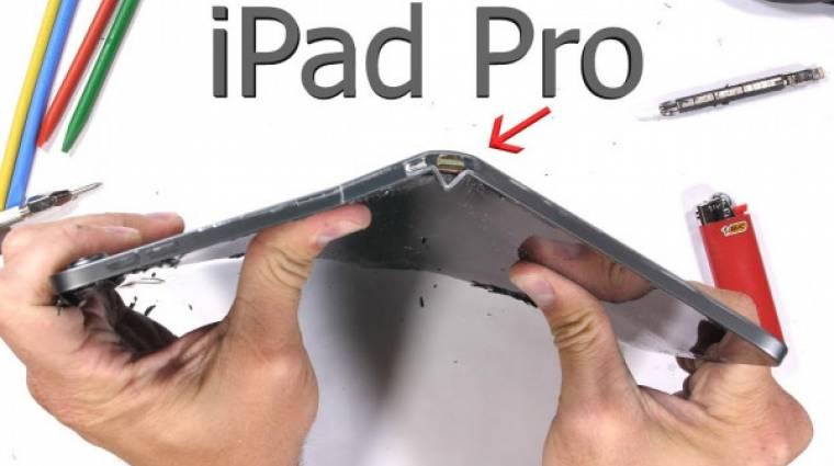 Könnyen elhajlik az iPad Pro kép