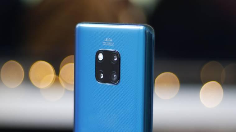Megőrülnek az európaiak a Huawei Mate 20 Pro okostelefonért kép