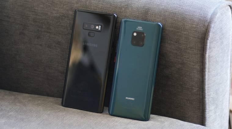 2020-ra megelőzné a Samsungot a Huawei kép