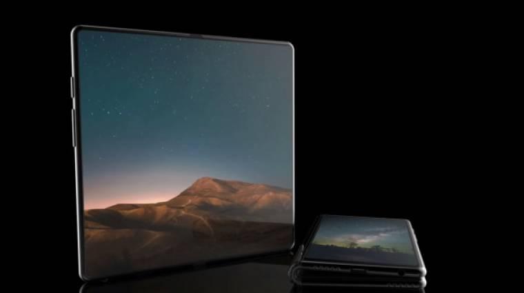 Ilyen menő is lehet a Samsung összehajtható okostelefonja kép