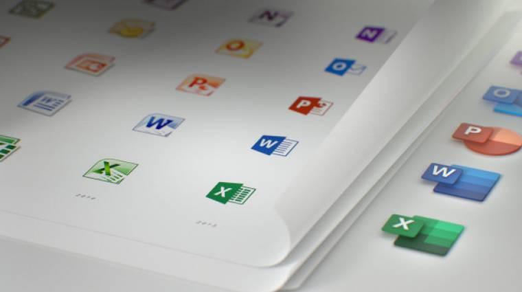 Így néznek ki az Office új ikonjai kép