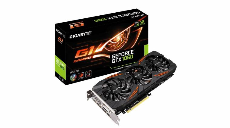 GDDR5X memóriás GeForce GTX 1060 videokártyák érkeztek kép