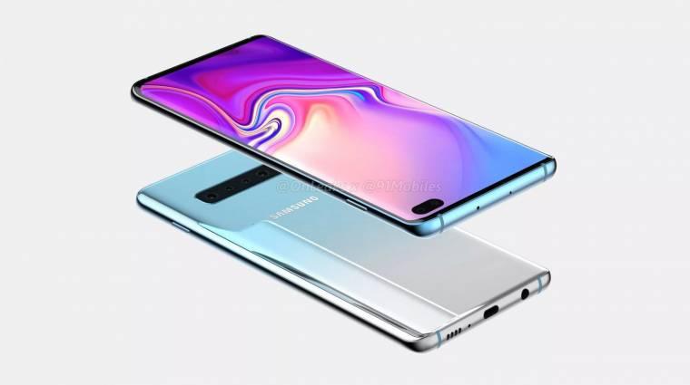 Tarolhat a sötétben a Samsung Galaxy S10 kamerája kép