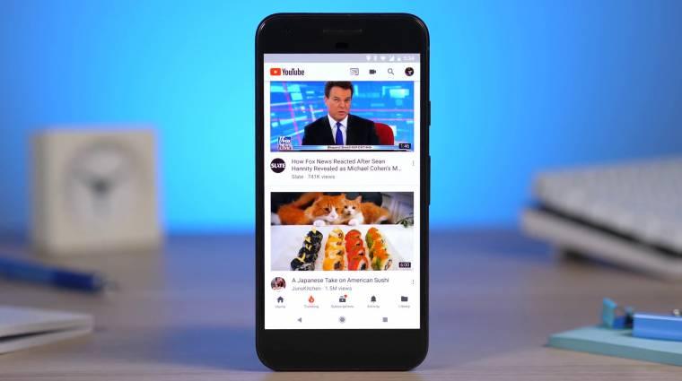 Több mint 5 milliárd alkalommal telepítették az androidos YouTube-ot kép