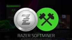 Kriptopénzt bányásztatna a rajongóival a Razer kép