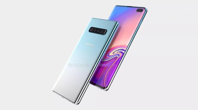 Ennyibe kerülhet a Samsung Galaxy S10 kép