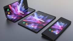 Dupla kamerát és óriási akkut kaphat az összehajtható Samsung mobil kép