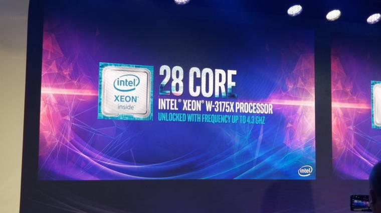 4000 euróba kerül az Intel 28-magos processzora kép