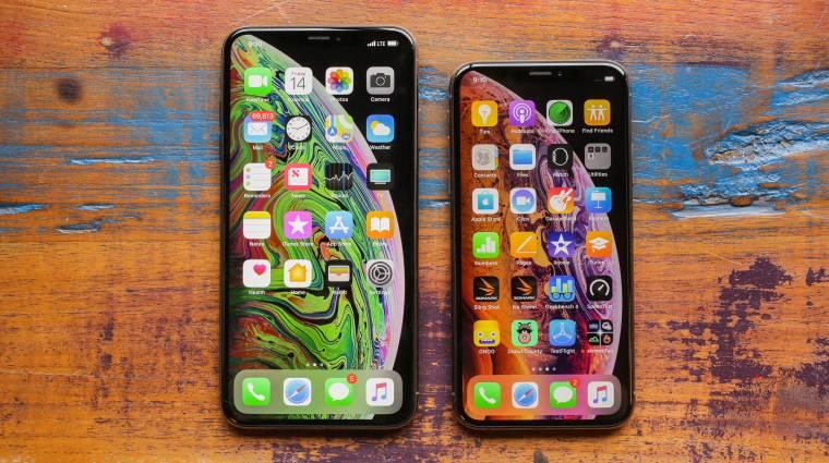 5 éves mélyponton az iPhone-vásárlók kép