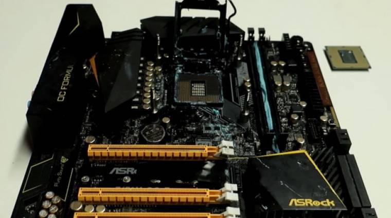 Nagy bravúrt hoztak össze a Core i9-9900K-val kép