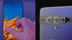 Egyedi kivágást kap a Galaxy S10+ kép