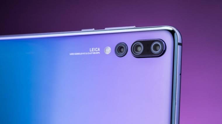 Ilyen szenzor kerülhet a Huawei P30 Pro okostelefonba kép