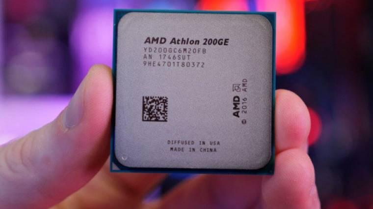 Tuningolható lett az olcsó AMD Athlon 200GE kép