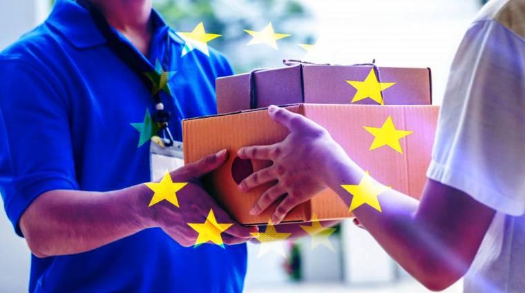 Mától az EU-n belül bárhonnan rendelhetünk webshopból kép