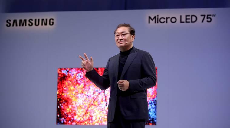 Moduláris Micro LED kijelzőkkel támad a Samsung kép