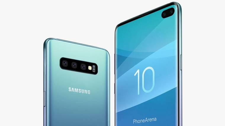 Szupervékony lesz a Samsung Galaxy S10+ kép