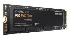 Itt a Samsung 970 EVO Plus NVMe SSD kép