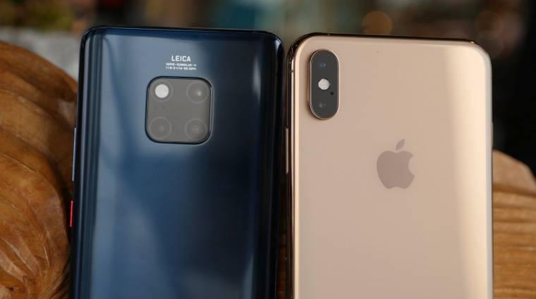 Durván megbüntette a Huawei az iPhone-tweetért felelősöket kép