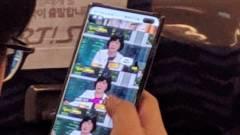 Élőképen a Samsung Galaxy S10+ kép