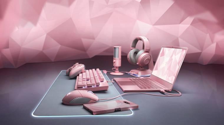 Pink laptoppal támad a Razer kép