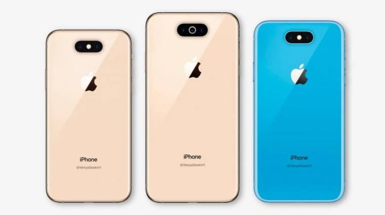 Küklopsz-dizájnra vált az iPhone XI kép