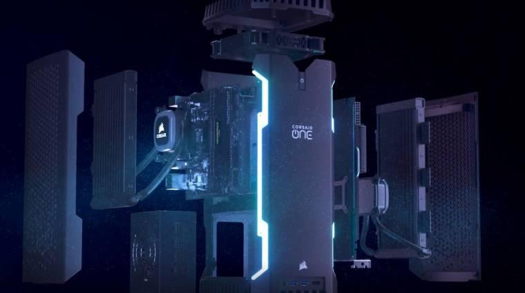 Elképesztő erőt rejtenek a Corsair kompakt gamergépei kép