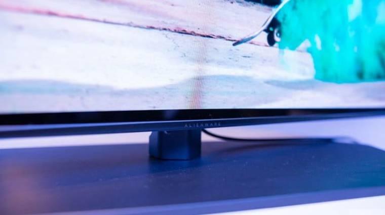 OLED-es gamermonitorral vágná agyon a monitorpiacot az Alienware kép